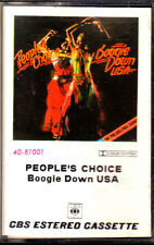 CASSETTE PEOPLE'S CHOICE boogie down USA rare SPANISH 1975 disco funk k7