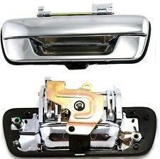 ISUZU RODEO DENVER DMAX D-MAX OUTER REAR TAILGATE BOOT DOOR HANDLE CHROME NEW