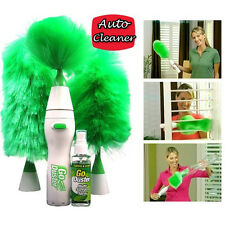 Dust Cleaner Go Duster Keyboard Motorized Brush Spins Dust Away Cleaning Tools