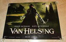 VAN HELSING movie poster (UK Quad) HUGH JACKMAN poster