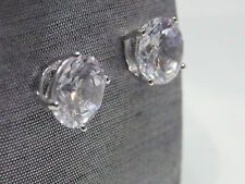 Fabulous Brand NEW Sparkly CZ Daimond Stud Solitaire Cubic Zirconia Earrings