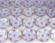 20 x SAUCERS ONLY (no cups) Royal Albert Petit Point VINTAGE ENGLAND