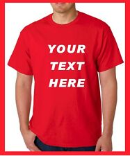BUY Custom Personalized T Shirts -print your TEXT, camisetas, Regular Sizes