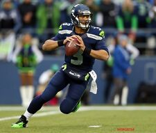 Russell Wilson Seattle Seahawks NFL Football Player Glossy 8 x 10 Photo