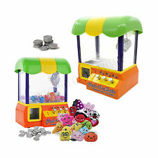 Toy Candy Grabber Prize Machine Joystick Catch Claw Dolls Arcade Game Party Kids