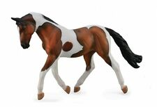 Pinto/Skewbald Bay Mare - 16cm Horse Model by CollectA 88691 *New with tag*