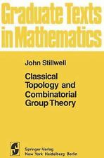 Classical Topology and Combinatorial Group Theory. Graduate Texts in M-ExLibrary