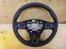 FORD FOCUS OR C MAX LEATHER STEERING WHEEL INC PHONE STEREO CONTROL 2015 - 2016