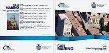 **San Marino  - BU SET 2014  - 0,01  -- 2 euro / 8 munten** - In Stock!