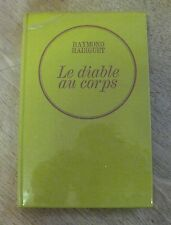 LE DIABLE AU CORPS by Raymond  - French edition - 1966 HC  - devil in flesh