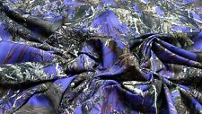 "MC2 PURPLE COTTON POLY TWILL FABRIC 60""W CAMO HUNTING CAMOUFLAGE WATER REPELLANT"