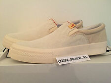 VISVIM SKAGWAY SLIP ON LOW US 8 UK 7 41 25.5 FBT IVORY BEIGE WHITE 2015