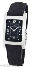 Baume & Mercier Automatic Movement Rectangular Black Dial Case Band Watch