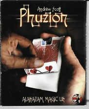 Andrew Scott Phuzion DVD Peel card off the back of a deck of cards Magic trick