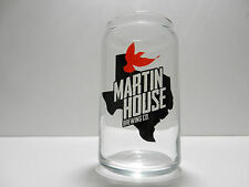 Martin House Brewing Company Can Shaped Beer Glass Fort Worth Texas Brewery