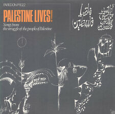 Palestine Lives!: Songs From The Struggle Of The P (2009, CD NIEUW) CD-R