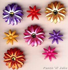 """Bloomin """"Chic-BRIGHT fiori giardino estivo novità Dress IT UP Pulsanti Craft"""