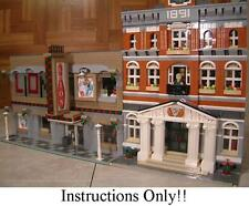GET 100+ CUSTOM LEGO INSTRUCTIONS like BOWLING ALLEY great for 10224 Town Hall