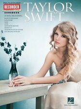 Taylor Swift Learn to Play LOVE STORY SPEAK NOW Country Pop RECORDER Music Book