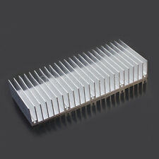 New 60x150x25mm Silver Aluminum Heat Sink for LED and Power IC Transistor eq6t
