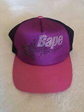A Bathing Ape Swarovski Purple Trucker Hat