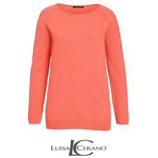 Luisa Cerano Orange Sweater Size 42 (UK 16) Box4574 H