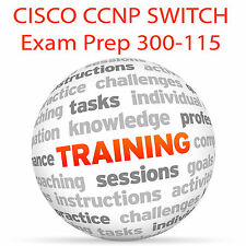 CISCO CCNP SWITCH Exam Prep 300-115 - Video Training Tutorial DVD