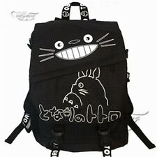 Ghibli Cartoon My Neighbor Totoro Black Backpack Shoulder Bag Cosplay Cute
