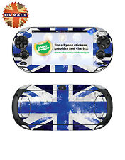 PS Vita Union Jack Vinyl Skin Decal - Blue -Playstation Vita Skin Stickers