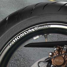 8 x Honda Racing Pegatinas Llanta De La Rueda Fireblade cbr vfr Bandit B