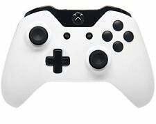 WHITE/BLACK XBOX ONE RAPID FIRE MODDED CONTROLLER COD BO3  40 MODE  QUICK SCOPE