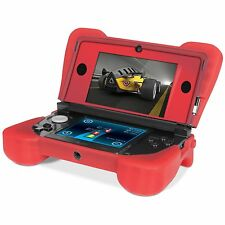 NEW Red Dreamgear Comfort Grip Silicone Protective Case for Nintendo 3DS