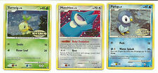Pokemon Distribution Promo Cards Piplup San Diego 07,Turtwig 08,Munchlax 09 RARE