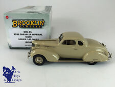 1/43 BROOKLIN BML 05 CHRYSLER IMPERIAL EIGHT SERIES C-19 COUPE 1938 BEIGE