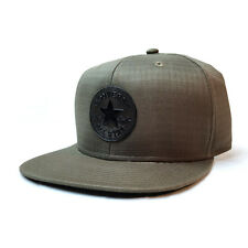 CONVERSE NEW Snapback Cap Olive Ripstop BNWT Authentic