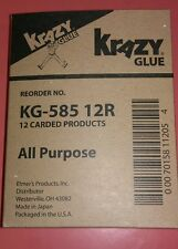 12 Crazy Glue all purpose elmers krazy Glue