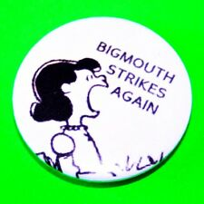 THE SMITHS AND PEANUTS SNOOPY INSPIRED BUTTON PIN BADGE