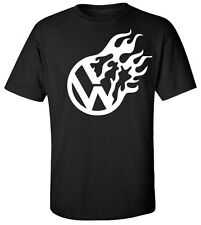 VW Volkswagen Flame T-Shirt Graphic Tee **FREE SHIPPING** #55T-SHIRT