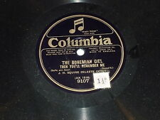 J H SQUIRE Celeste Octet - The Bohemian Girl - Columbia 78 Record