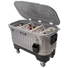 Igloo Cooler on Wheels Ice Chests and Coolers with LED Lights Tailgating Party