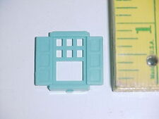 Plasticville Bachmann Split Level Home # 1908-198 small turquoise window