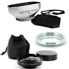 Baby Death 30.5mm 0.3x Ultra Wide Fisheye Video Lens + Hood for Skateboarding