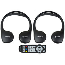 2 New Headphones Headsets UConnect Wireless + Dvd Remote Town & Country Caravan