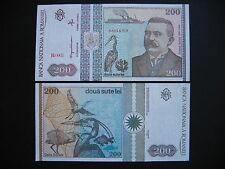 ROMANIA  200 Lei 1992  (P100a)  UNC