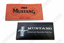 1969 Ford Mustang Owners Manual & Wallet