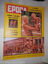 EPOCA Jayne Mansfield Strategic Air Command Paola Ruffo Calabria Charly Gaul di