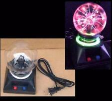 "LIGHTENING PLASMA BALL LAMP 4"" party light home decor electric lights lamps NEW"