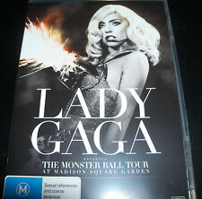 Lady Gaga The Monsters Ball Tour Live Madison Square (Aust All Region) DVD