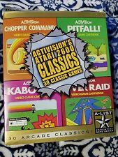 Activision's Atari 2600 Classics PC CD 30 Classic Retro Arcade Games Win 95/98