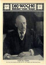 Leopold Graf Berchtold der neue österreichisch- ungarische Minister des A...1912